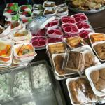 While you wait, you could sample all the local kuih-muih... :)