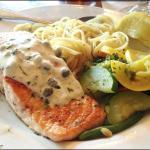 Atlantic Salmon at Falls Landing Restaurant