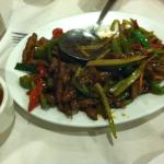 Spicy beef and vegetables
