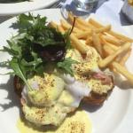 Excellent choice Poached eggs on Salmon