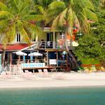 Elm Beach Bar - view from the boat