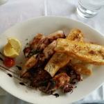 calamare von  grill