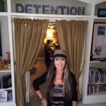 inside at detention--the bar