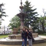 We had a great walk there in the gardens and we enjoyed taking pictures with weird furnitures in