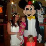 Mickey Mouse made my Grandaughters night