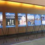 Posters promoting the events of the 2015 Summer Concert Series