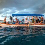 Arvo surf boat - stoked heads!