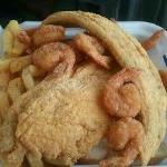 fish and chicken combo $7.99