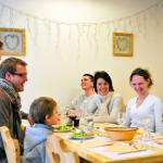 Restaurant au village club à Tignes Cap'Vacances (Savoie).