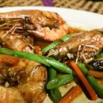 RM25 for 4 mid sized prawn..