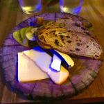 Wonderful cheese platter. Great end to a perfect meal!.