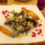 broccoletti e vongole buonissime