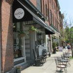 Iron Roost Gourmet Waffles storefront, Front St, Ballston Spa, NY