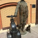 Plumber Statue