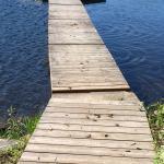 Fecal matter all over the dock