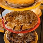 Freshly baked homemade pies