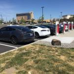 Wildhorse partnered with Tesla to add a Supercharger Station