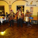Les musiciens au restaurent La Retema à Cuzco, Pérou