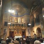 The sanctuary and service choir