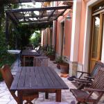 The apartments with their verandahs and views of the mountains