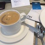 Desayunando en el NH