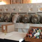 30 ales plus cider to wash your meal down!