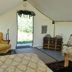 Stay in our Authentic Wall-Tents for a unique experience!