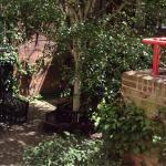 Inner yard and garden