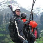 My own paraglide flight