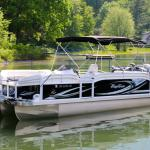 2015 Sport Pontoon Boat Rental