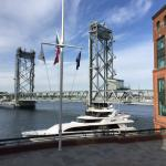 Portsmouth - the draw bridge