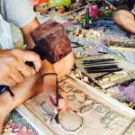 Bali Simple Wood Carving and Batik Class