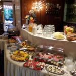 Sehr ansprechendes Frühstücksbuffet. ☺