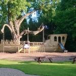 amazing boat structure/playground