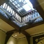 lovely atrium within main corridor