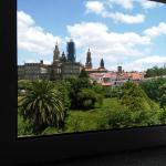 Vistas a la Catedral de Santiago desde nuestra habitación