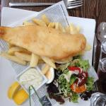 Fish and chips at The Dean