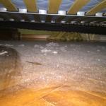 Panoramica sotto il letto