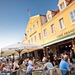 Outdoor seatings at Café Frandsen