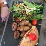 Bagel poulet : excellent !