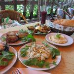 A Delicious Selection of Mezze