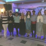 Amazing young dance group with Dimitris