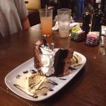 Chocolate stampede.