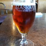 Amber deaft beer