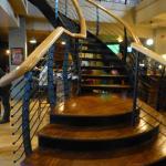 to Upstairs bar