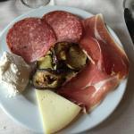 antipasto all'italiana menù di carne