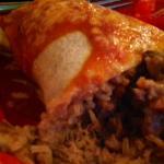 mi Pueblo Steak Burrito