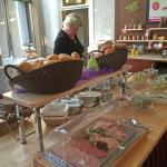 Reichliche Auswahl Frühstück Goldener Löwe Bayreuth