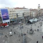 Vista a la Plaza del Sol