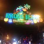 Patpong Night Market Foto
